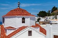 Lindos Skyline, Lindos, Rhodes, Greece.