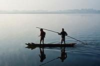 Fishermen ( Bastar region, India).