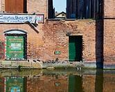 Nottingham Beeston Canal, Nottingham, Nottinghamshire, east Midlands, England.