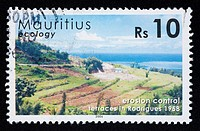Mauritian postage stamp.