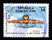 Dominican Republic postage stamp.