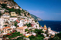 Positano. Amalfi coast. Campania. Italy