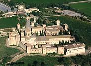 Poblet monastery. Tarragona province. Spain