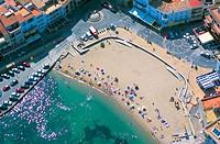 Beach. L´Escala. Girona province. Spain