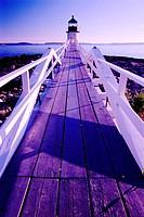 Marshall Point Light. Port Clyde. Maine, USA