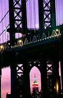 Manhattan Bridge. New York City, USA