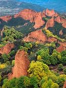 Las Médulas, ancient roman gold mining site. León province. Spain