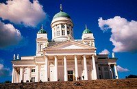 Lutheran Cathedral. Helsinki. Finland