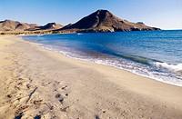 Playa de los Genoveses. Cabo de Gata. Andalucia. Spain