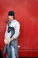 stylish image of young man