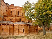 Ruins of Santa María de Moreruela Cistercian monastery dating from 12th century, Granja de Moreruela. Zamora province, Castilla-Léon, Spain