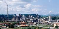Industrial complex. Torrelavega, Cantabria, Spain