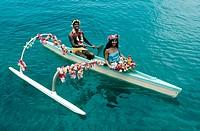 Tahiti. Polynesia.