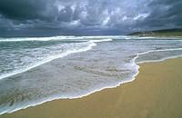 Beach near Baldaio, Costa da Morte. La Coruña province, Galicia, Spain