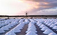 Saltworks Ettore & Infersa. Marsala, Trapani province, Sicily, Italy.