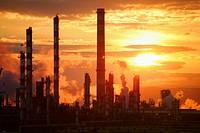 Chemical factory. Tarragona. Spain