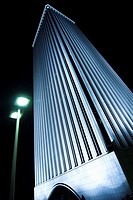 Torre Picasso, Azca district, Madrid. Spain