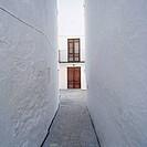 Narrow street, Quesada. Jaén province, Andalusia, Spain