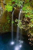 Cascade on the Umpqua River near Toketee Falls, Umpqua National Forest, Oregon, USA