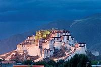 Potala Palace in Lhasa. Tibet, China