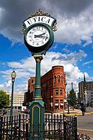Clock & Carlile Building, Genesee Street, Utica City, New York State, USA