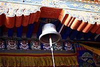 A bell in a monastery in Bhutan