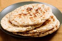 Pan de pita. Pan árabe.