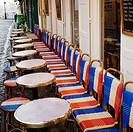 Cafe restaurant, Montmartre, Paris, France, Europe
