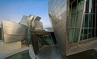 Guggenheim Museum, by Frank O. Gehry. Bilbao. Spain