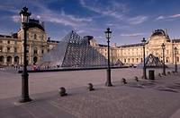 Louvre Pyramid, Paris, France