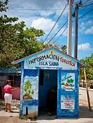 Tourist information, Saona Island, Dominican Republic
