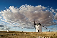 Windmills of Don Quixote de la Mancha. Spain