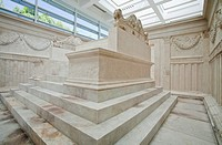 Inside Ara Pacis Augustae. Rome. Italy