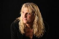 Portrait of male to female transgender woman