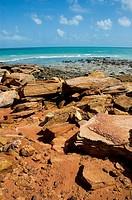 Rocks, Cable Beach, Broome, Western Australia, Australia
