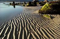 Carnota beach, La Coruna province, Galicia, North - West Spain