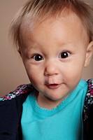 mixed race Asian Toddler Girl