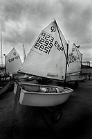 optimistic, boat,