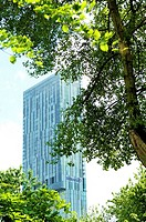 The Beetham Tower and Hilton Hotel Manchester City Centre