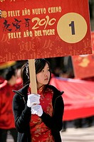 Chinese New Year celebrated in Madrid