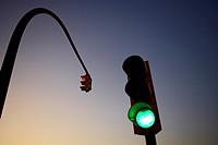 Traffic light Spain