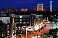 Dusk, Lexington Skyline, Kentucky