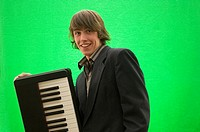 Handsome Musician