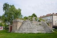 Stone bunker, Oulu, Finland