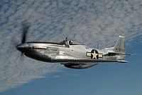 North American P-51 Mustang, USAF WWII fighter, the airplane credited with helping to win the war. Attack fighter / fighter bomber / support fighter