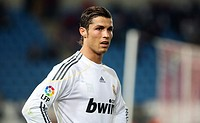 Cristiano Ronaldo, Real Madrid, Málaga CF-Real Madrid game, season 2009-2010, Spain, Europe