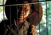 Asia, South Vietnam, Mekong Delta, countrywoman