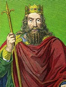 CLOVIS I 466-511  King merovingian of France  First king of France and of the Francs population