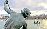 Monument to King Alfonso XII  Parque del Retiro  Madrid  Spain