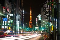 Tokyo Tower is a communications and observation tower located in Shiba Park, Minato, Tokyo, Japan. At 332 5 metres 1, 091 ft, it is the second tallest...
